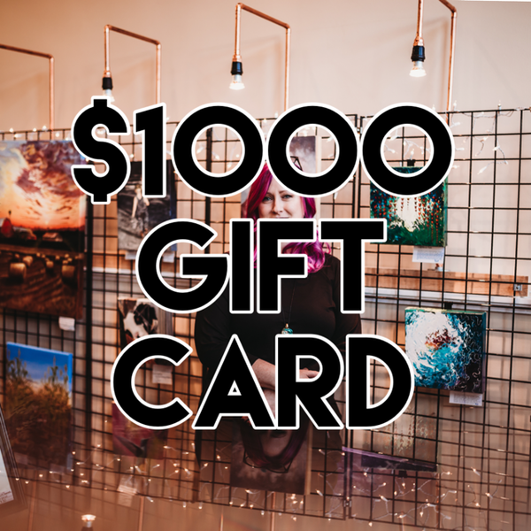 $1000 Gift Card | alanajudahart