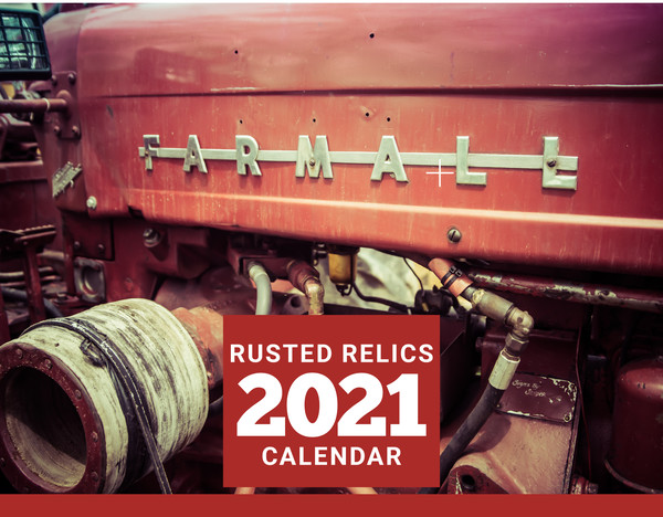 Rusted Relics   2021 Calendar | Scott Krycia Photography