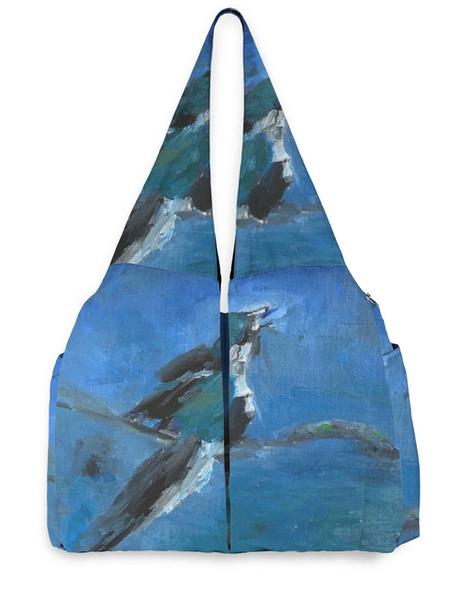 Blue Bird Studio Bag designed by artist