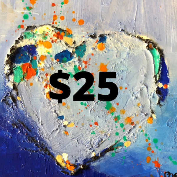 $25 Gift Card | PoroyArt