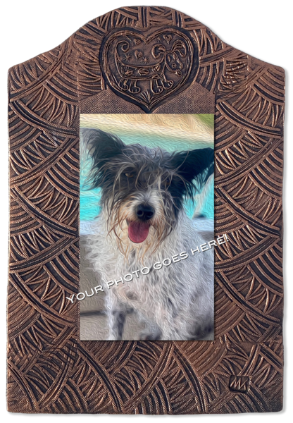 "Dog Tile   Vertical | 9""X13"" 