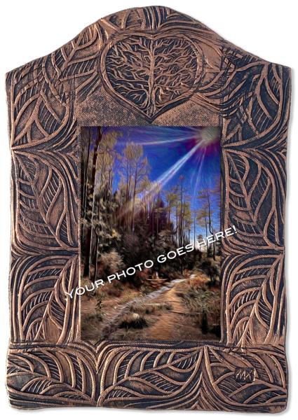 Tree Tile   Vertical/Canvas On Custom Tile Art   KenarovART Inc