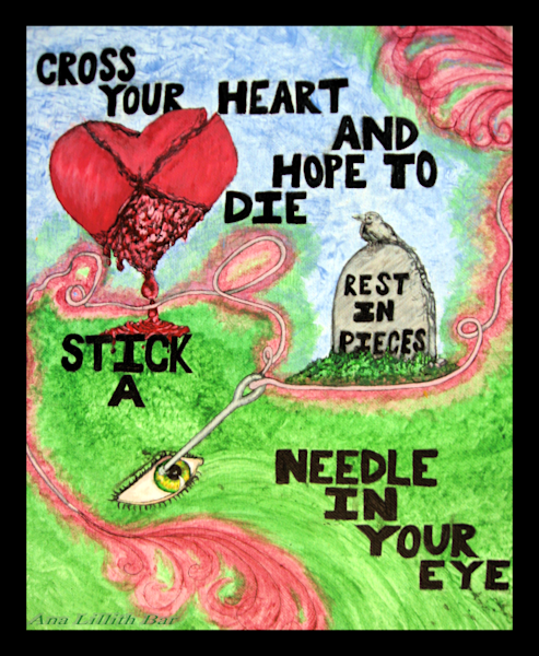 Stick A Needle Art | Lillith