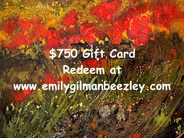 $750 Gift Card | Emily Gilman Beezley