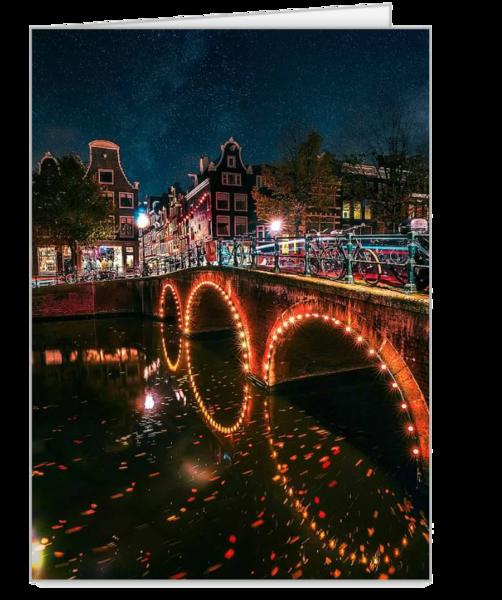 Amsterdam Lights at Night