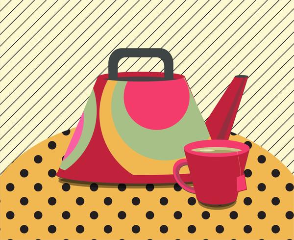 Midcentury Teapot 4 Art | Davida Fernandez Studio