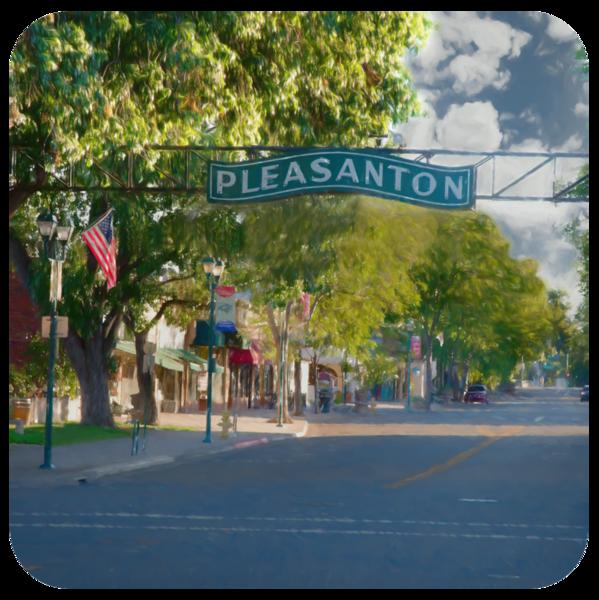 Old Town Pleasanton Coasters   Greg Starnes Phtography