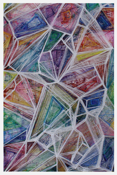 Crystals From Mo Ma Puzzle | Artist Rachel Goldsmith, LLC