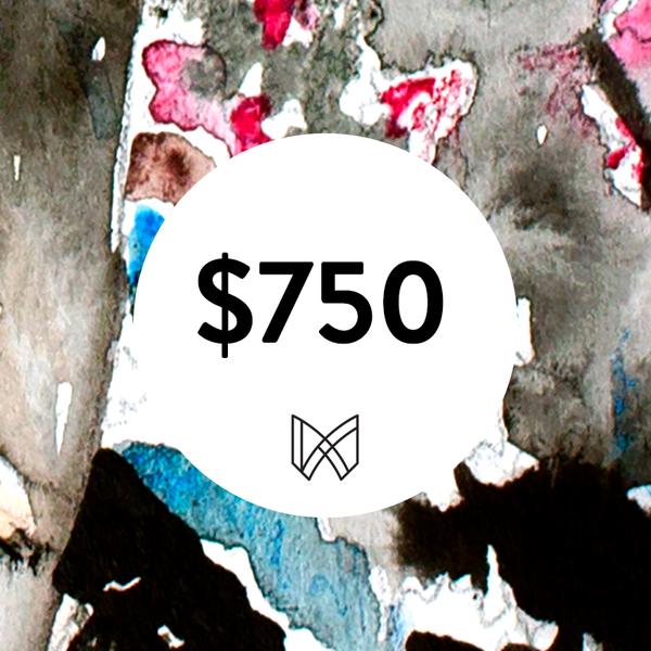 $750 Gift Card  | Megh Knappenberger Art, LLC