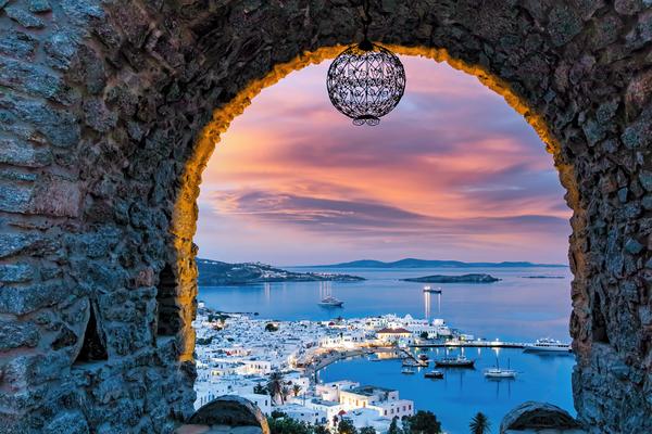 Art Print Mykonos Greece Singularity