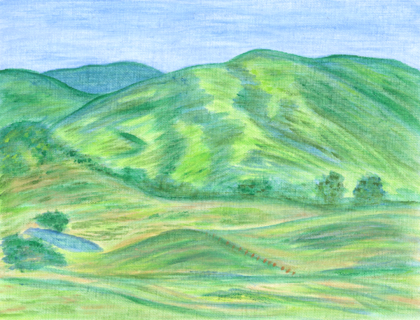Blue Ridge Mountains Art | Off The Edge Art