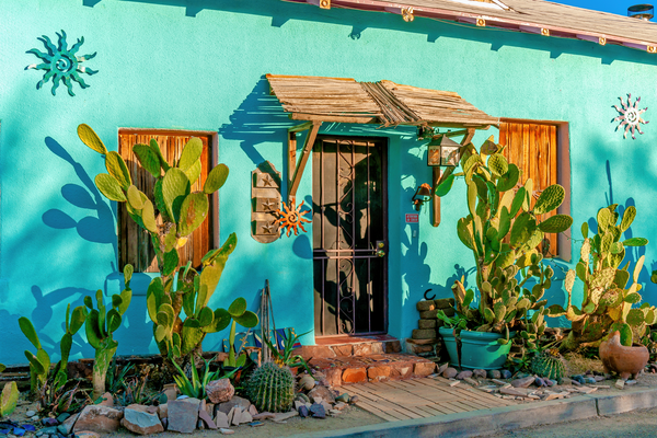 Print Art Tucson Arizona Turquoise Delight