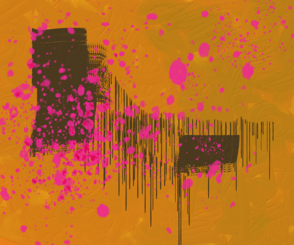 10.20 Digital Painting Orange Art | Glenn McDaniel Arts, LLC