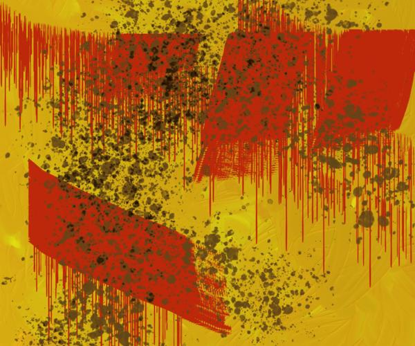 10.20 Digital Painting Yellow Art | Glenn McDaniel Arts, LLC