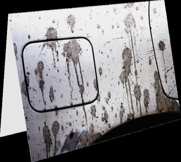 Car Mud Card   Sherry Mills, Inc.