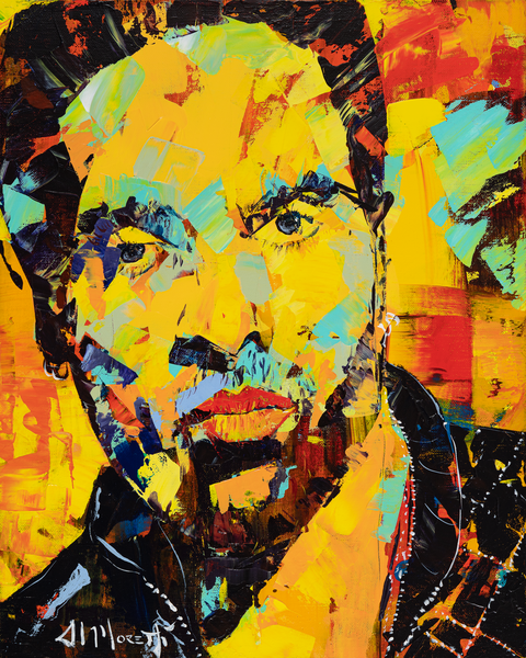 Lenny Kravitz, Fly away painting and print