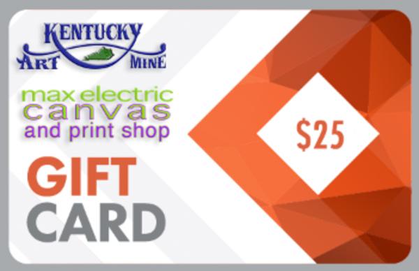 $25 Gift Card | Kentucky Art Mine, LLC