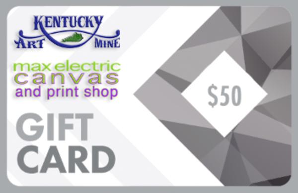 $50 Gift Card | Kentucky Art Mine, LLC