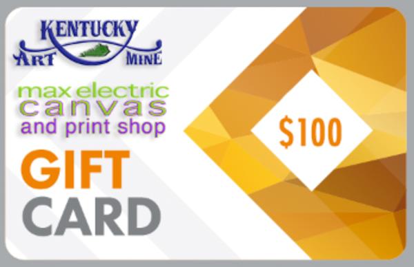 $100 Gift Card | Kentucky Art Mine, LLC