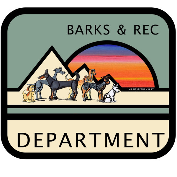 Welcome to Barks and Recreation by Marie Stephens Art