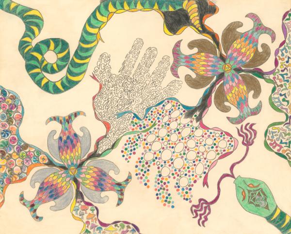 Merch: Ribbons Of The Senses Art | Off The Edge Art