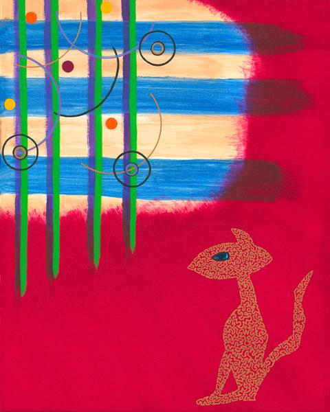 Merch: Jigsaw Cat Art | Off The Edge Art