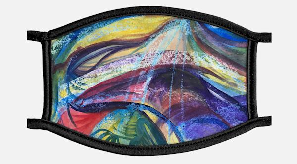 Hurricane Sandy 1 Mask | Artist Rachel Goldsmith, LLC