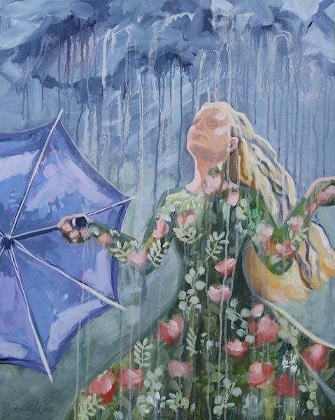 A Well Watered Garden Art | Kristin Webster Art Studio