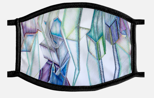 Limelight Mask | Artist Rachel Goldsmith, LLC