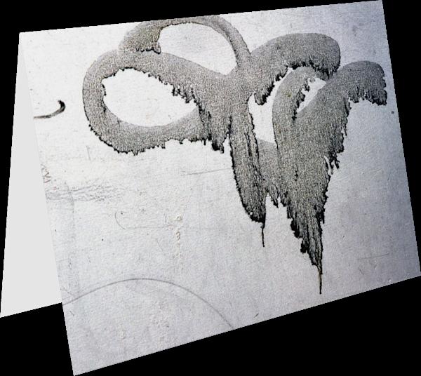 Accidental Calligraphy NYC Graffiti Art Card - Sherry Mills