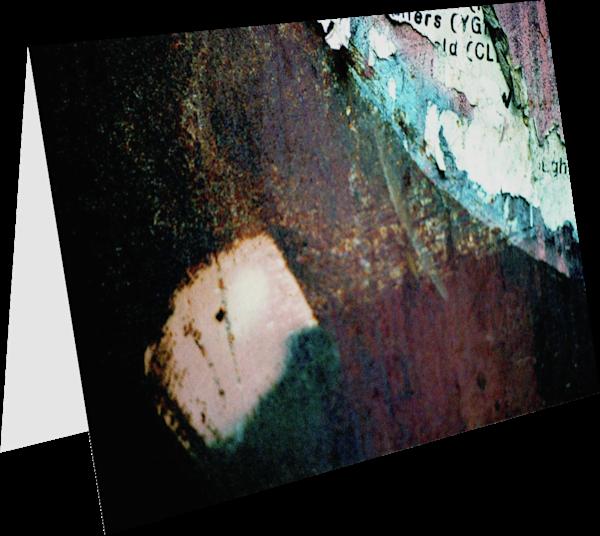 Abstract SoHo Wall Detail Greeting Card – Sherry Mills