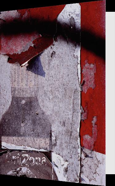 Eroding Abstract Arizona Ad Greeting Card – Sherry Mills
