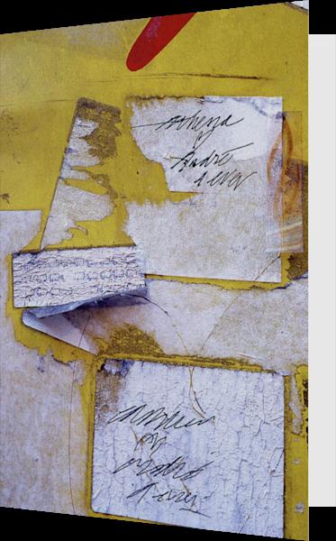 Abstract Yellow Nolita Love Greeting Card – Sherry Mills