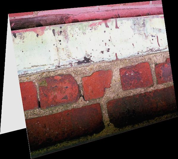 Brooklyn Bricks Abstract Art Greeting Card – Sherry Mills