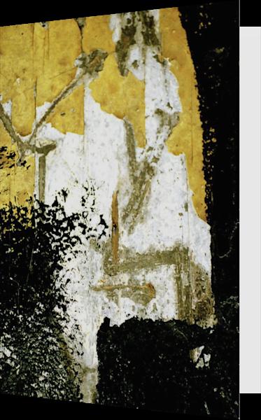 Abstract Yellow Manhattan Subway Art Card – Sherry Mills