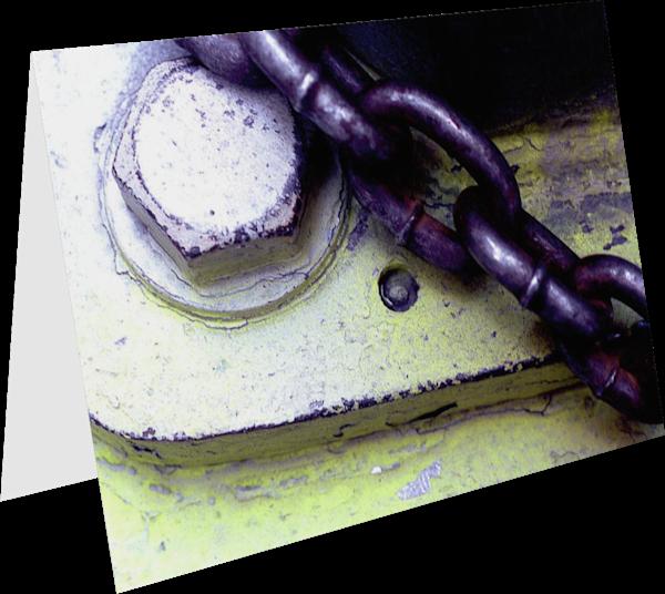 Bike Chain Abstract NYC Art Greeting Card – Sherry Mills