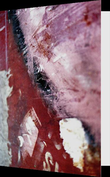 Close-Up SoHo Wall Abstract Greeting Card – Sherry Mills
