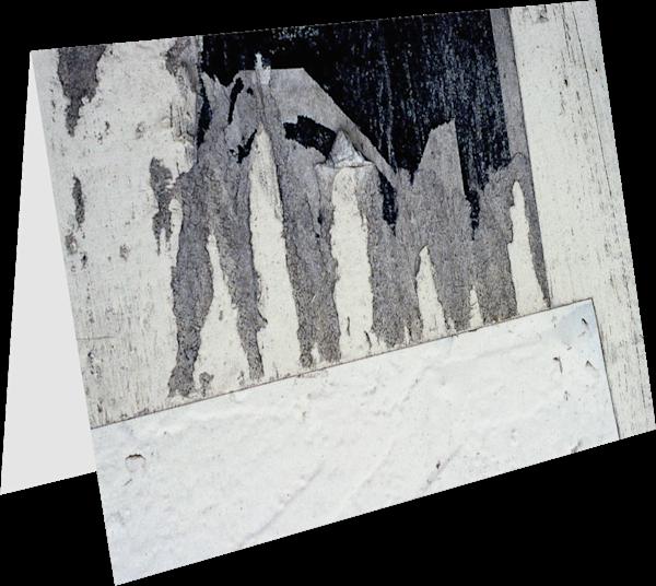 Eroding Natural Urban Collage Greeting Card – Sherry Mills