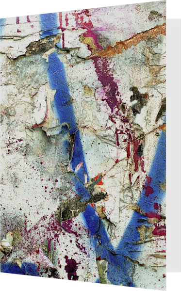 Abstract Expressionist NYC Wall Art Card – Sherry Mills
