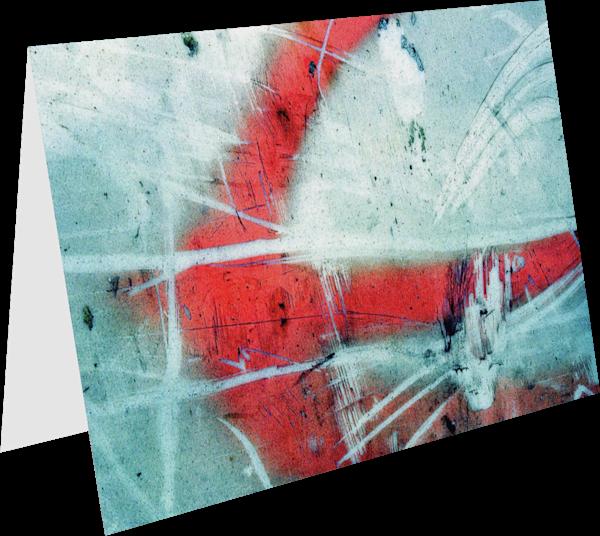 Dramatic NYC Street Detail Greeting Card – Sherry Mills