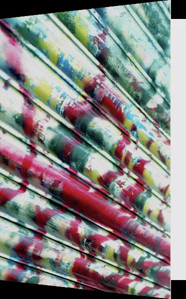 SoHo NYC Graffiti Roller Door Greeting Card – Sherry Mills
