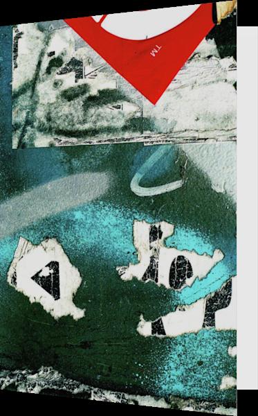 Trademark Abstract Art NYC Graffiti Art Card – Sherry Mills