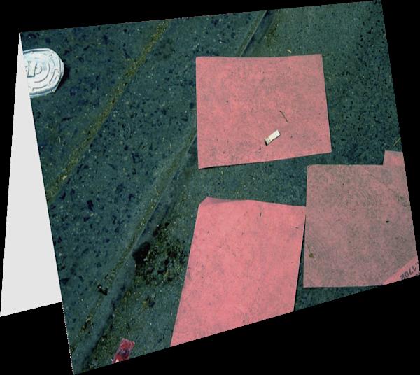 Coffee Break Pink Abstract Street Art Card – Sherry Mills