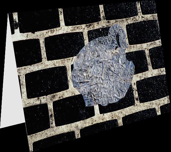 Canal Street Plastic Bag Art Greeting Card – Sherry Mills