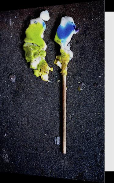 Brooklyn Lollipop Abstract Sidewalk Art Card – Sherry Mills