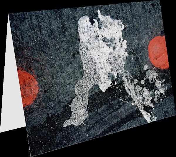 NYC Broadway Dots Abstract Sidewalk Art Card – Sherry Mills