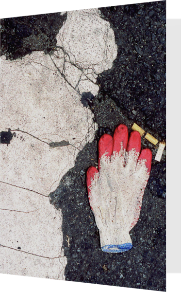 Little Italy Glove Sidewalk Greeting Card – Sherry Mills