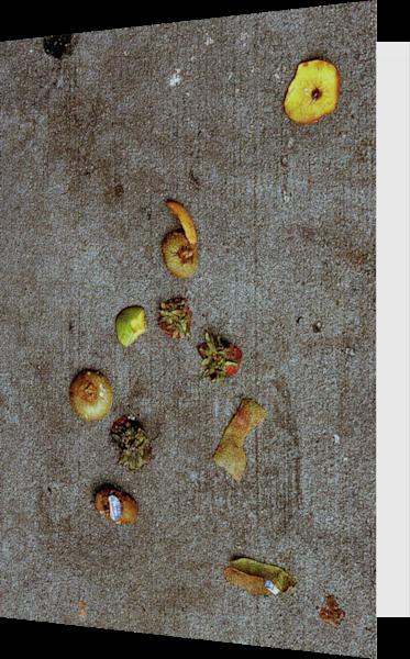 Abstract Fruit Sidewalk Art Greeting Card – Sherry Mills