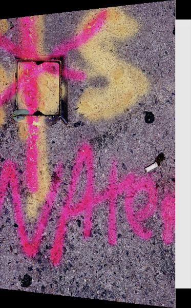 Pink Water NYC Sidewalk Art Greeting Card – Sherry Mills