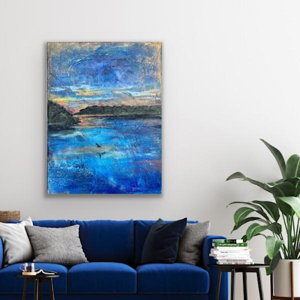 Lake Champetra  Art | Jenny McGee Art
